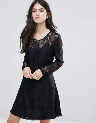 Only Evania Lace Evening Dress