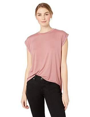 Joe's Jeans Women's Adrienne ROLL Sleeve TEE