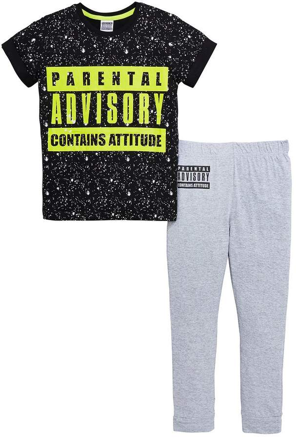 Parental Advisory Boys Pyjamas