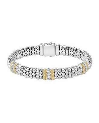 Lagos Diamond Lux 9mm Single Station Bracelet with Diamonds eUANV1qkP