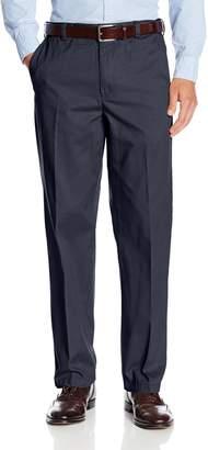 Geoffrey Beene Men's 100% Cotton Chino Flat Front Extender Pant