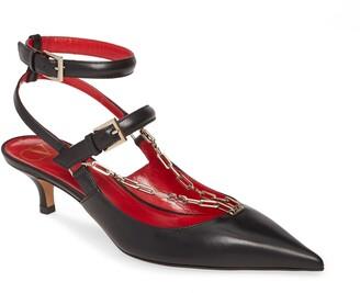 Valentino GARAVANI Chain Ankle Strap Pump