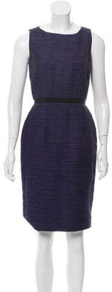 Peter Som Wool-Blend Sheath Dress