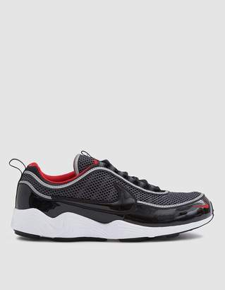 Nike Spiridon '16 Sneaker in Black/Black-University Red