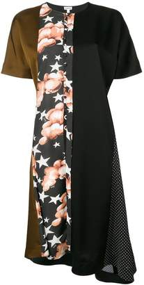 Loewe print shift dress