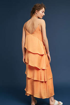 Mara Hoffman Salome Tiered Ruffle Dress