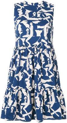 DAY Birger et Mikkelsen La Doublej sleeveless printed dress