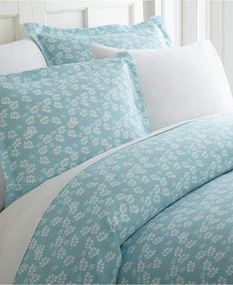 Ienjoy Home Elegant Designs Patterned Duvet Cover Set by The Home Collection, Twin/Twin Xl Bedding