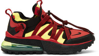 Nike Red and Black Air Max 270 Bowfin Sneakers