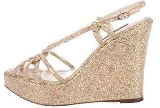 Dolce & Gabbana Platform Wedge Sandals