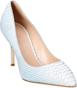 Giuseppe Zanotti Embossed Ombre Leather Pump
