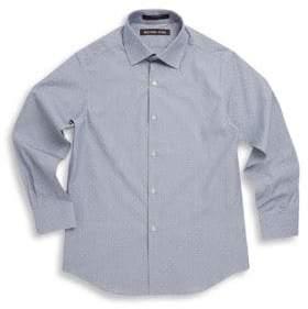 Michael Kors Boy's Neat Cotton Collared Shirt