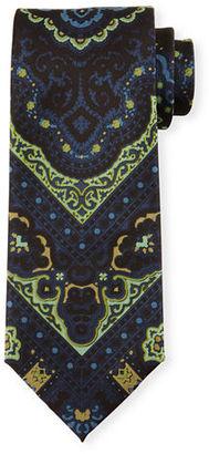 TOM FORD Paisley-Print Silk Tie $250 thestylecure.com