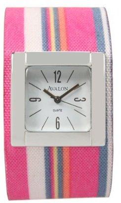 Avalon Ladies FunストライプシリーズファッションWatch # a3197