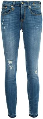 R 13 skinny cropped jeans