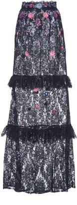 Dundas High Waisted Maxi Skirt