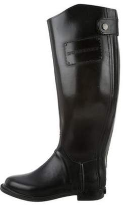 Burberry Logo-Embellished Rain Boots