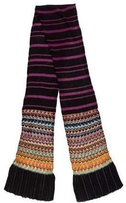 Missoni Semi-Sheer Knit Scard
