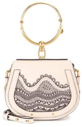 Chloé Exclusive to Mytheresa.com – Small Nile leather crossbody bag