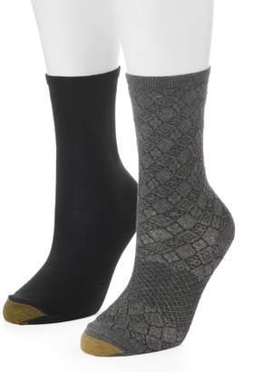 Gold Toe Goldtoe Women's GOLDTOE 2-pk. Tile Crew Socks