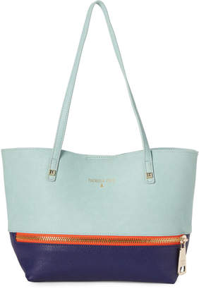 Patrizia Pepe Pure Water & Blue Color Block Shoulder Bag