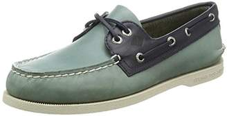 Sperry (スペリー) - [トップサイダー] カジュアルシューズ A/O 2-Eye Sarape A/O 2-Eye Sarape Blue Surf/Navy Blue Surf/Navy US 7H(25.5cm)