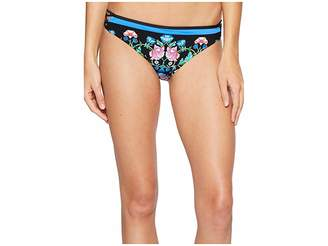 Nanette Lepore Damask Floral Charmer Bottom Women's Swimwear