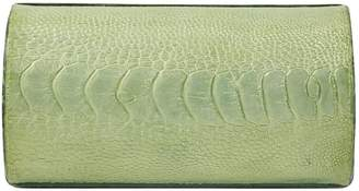 Nancy Gonzalez Green Crocodile Clutch bags