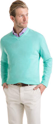 Vineyard Vines The Greenwich Garment Dyed Merino V-Neck Sweater