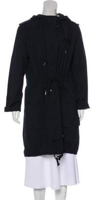 Marc by Marc Jacobs Long Sleeve Knee-Length Coat