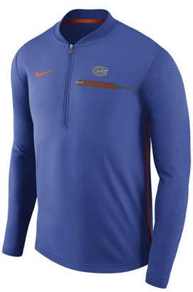 Nike Men's Florida Gators Coaches Quarter-Zip Pullover