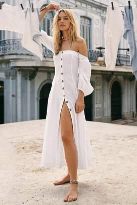 557b6dd5eb6 White Cotton Summer Dresses - ShopStyle