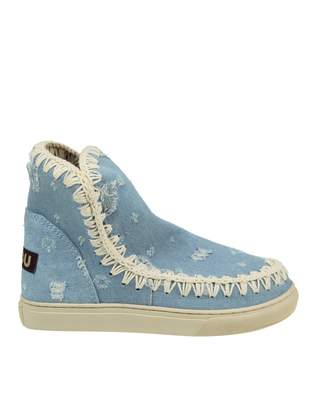 Mou Summer Eskimo Sneakers In Fabric