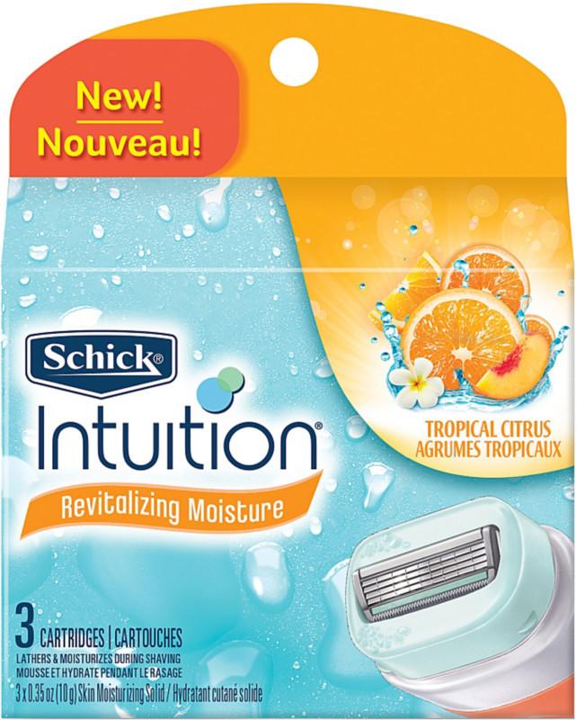 Schick Intuition Revitalizing Moisture Womens Cartridges
