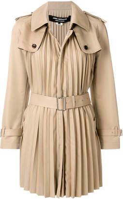 Junya Watanabe pleated trech coat
