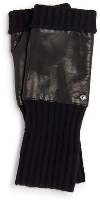 Henri Bendel Iconic Fingerless Gloves
