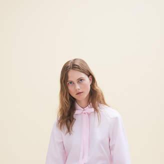 Maje Loose-fitting poplin shirt