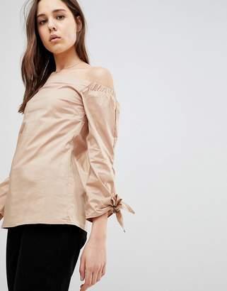 Glamorous Long Sleeve Off Shoulder Top