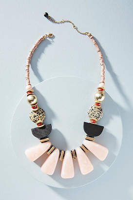Anthropologie Fanfare Bib Necklace