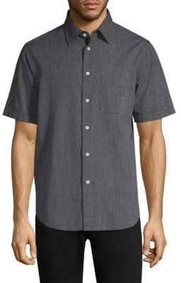 Rag & Bone Short-Sleeve Button-Down