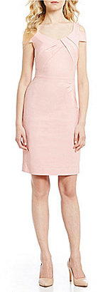 Antonio Melani Penn Double Face Sheath Dress $159 thestylecure.com