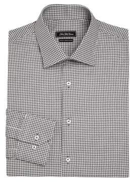 COLLECTION Printed Button-Down Dress Shirt