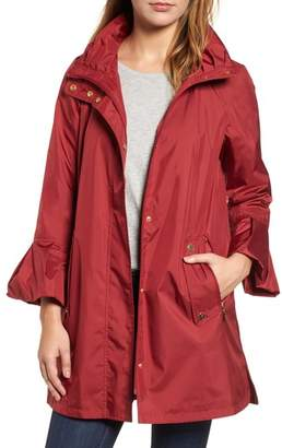 Gallery Flare Sleeve Packable Swing Jacket
