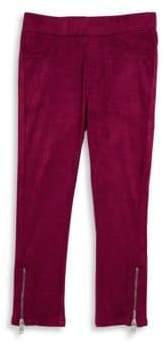 Diesel Little Girl's Zip Cuff Pants
