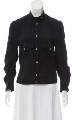 Ann Demeulemeester Long Sleeve Button-Up Jacket
