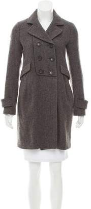 Comptoir des Cotonniers Wool Tweed Coat