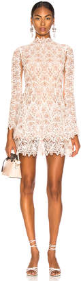 Jonathan Simkhai Lace Long Sleeve Dress