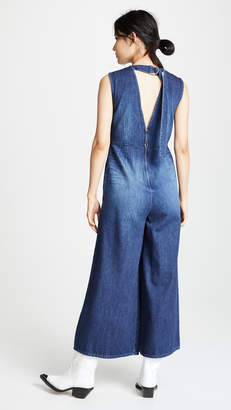 PRPS Wide Leg Jumpsuit