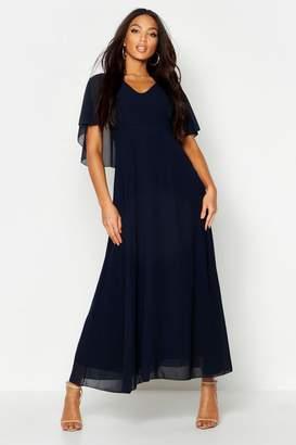 106e4a08431d Navy Chiffon Maxi Dress - ShopStyle UK