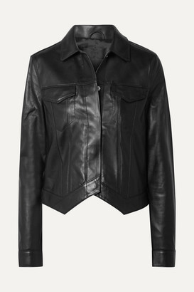 RtA Leather Jacket - Black